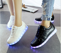 11 Colors LED Luminous Shoes Unisex Men Women Casual Shoes USB Charging Light Shoes Colorful Glowing