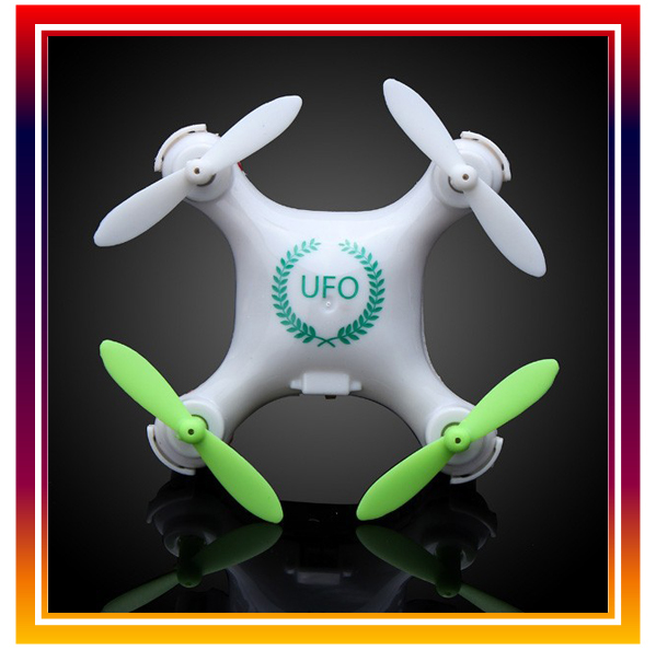 2016 Hot Sale RC Helicopter RC UFO Logo Design Mini Quadcopter RC Nano Drone with Headless Mode VS cx-10 Aircraft Free Shipping(China (Mainland))