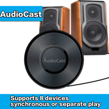 Portable AudioCast M5 Airplay DLNA Music Receiver iOS&Android Airmusic WIFI HiFi Audio Speaker Spotify Wireless Sound Streamer