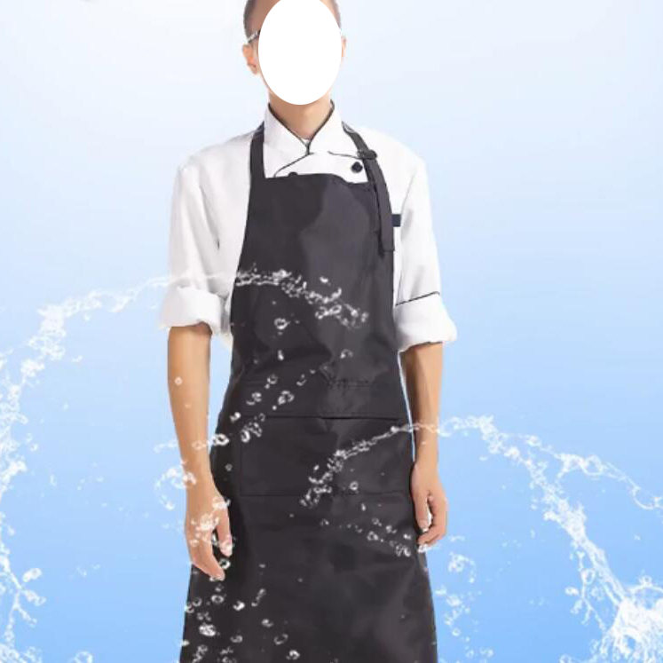 PVC Waterproof Apron for Men Women Unique Work Chef Aprons Kitchen Cooking Black/ White/ Blue/ Gray Adjustable Bibs Custom Apron(China (Mainland))