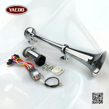 150DB Super Loud 12V Single Trumpet Air Horn Compressor Car Lorry Boat Motorcycle(China (Mainland))