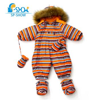 одежда для детей от 0-1,5 лет , бесплатная доставка ,новая коллекция зима 2015г,детский пуховый комбинезон ,два в одном (конверт для пеленания) ,натуральный мех енота на капюшоне ,подкладка из 100% хлопка