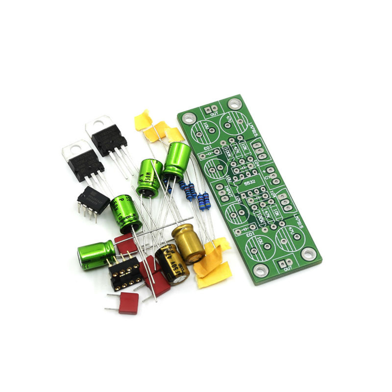 5532 MINI Preamp NE5532 Op amp Replaceable OPA2604 Op amp preamplifier Kit(China (Mainland))
