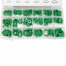 High Quality Rubber 270Pcs 18 Sizes O-ring Kit Green Metric O ring Seals Nitrile(China (Mainland))