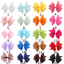Buy New Baby Girls Headwear Hairpin Cheap Ribbon Boutique Hair Bows Children Hair Accessories Baby Hair bows Clip 20pcs/lot for $4.62 in AliExpress store