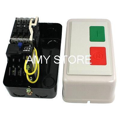 AC 36V 9-13A 1HP Three Phase Contactor Motor Control Magnetic Starter<br><br>Aliexpress
