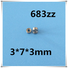 Buy 30pcs/Lot 683ZZ 683 ZZ 3x7x3mm Thin Wall Deep Groove Ball Bearing Mini Ball Bearing Miniature Bearing Brand New for $17.40 in AliExpress store