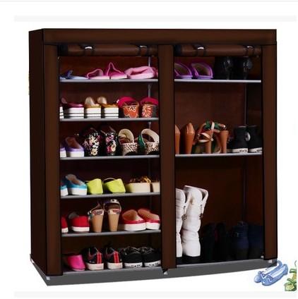 Simple shoe boots models Cheap hostel assembled large capacity double rack simple<br><br>Aliexpress