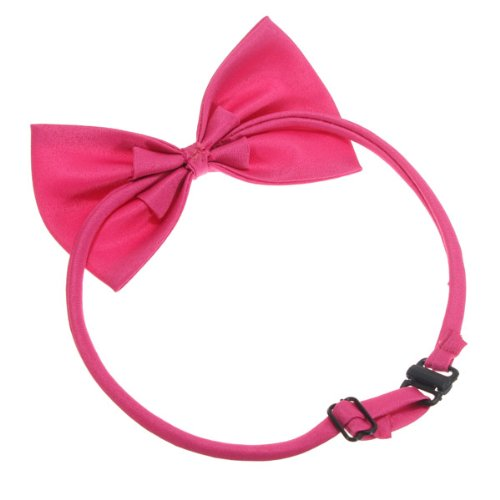 LHLL-Cat Collar Pet Dog Bow Tie Puppy Accessory Cute Rose(China (Mainland))