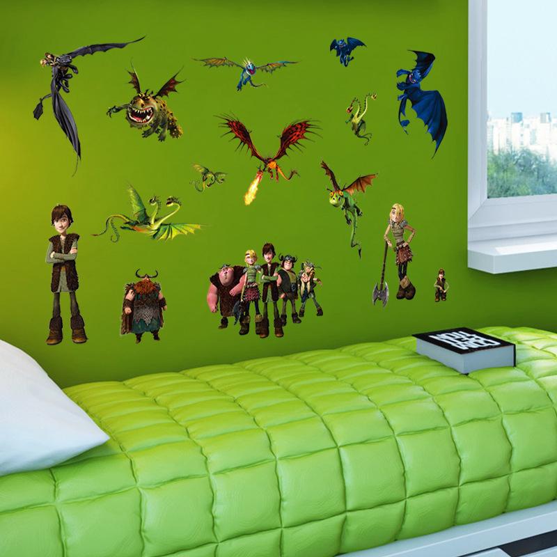 Wall Stickers Home Decoration Diy Cartoon Kids Room Bedroom Wall