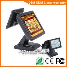 Хайна Сенсорный 15 дюймов Ресторан Сенсорный Экран POS Система с Кард-Ридер(China (Mainland))