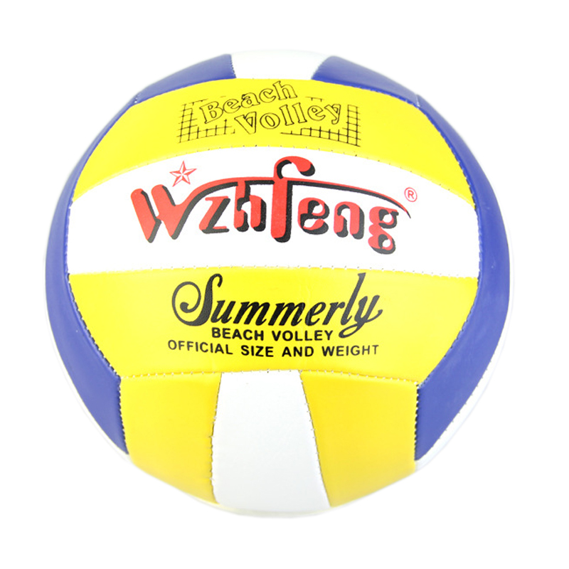 WZHFENG Volleyball PU Leather Official Game Match Size 5# Balls Weight Outdoor Indoor Training Compitition Balls Beach Handballs(China (Mainland))