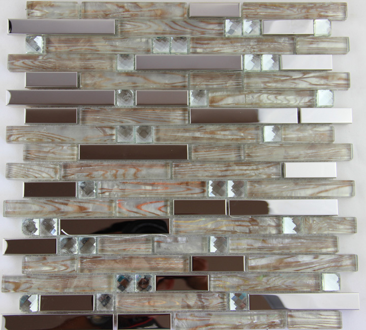Http Www Aliexpress Com Item Free Shipping Silver Metal Crystal Glass Mosaic Tile Stainless Steel Decor Kitchen Room Shower Hotel Spa 1364956972 Html