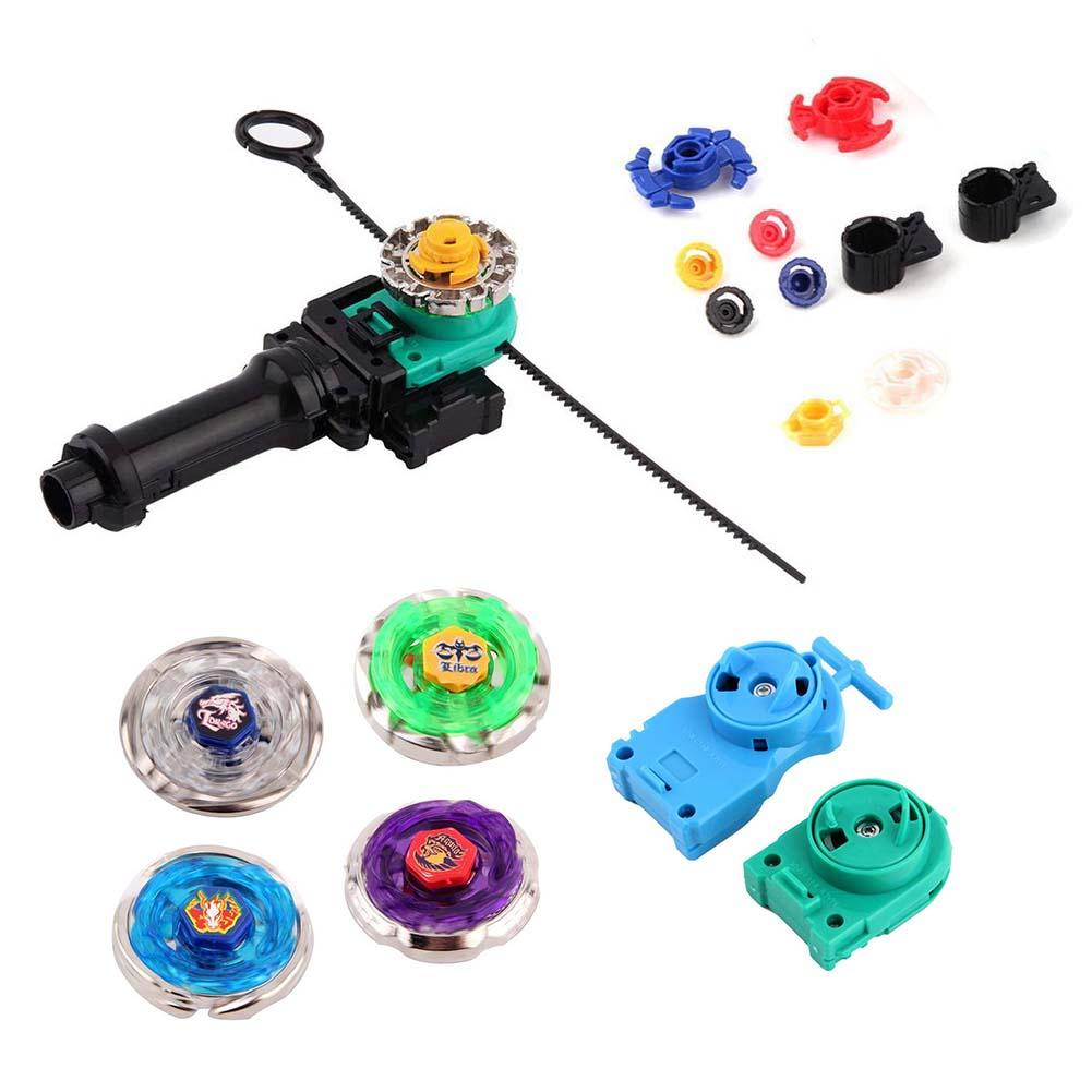 New Fusion Top Metal Master Rapidity Fight Rare Beyblade 4D Launcher Grip Set(China (Mainland))
