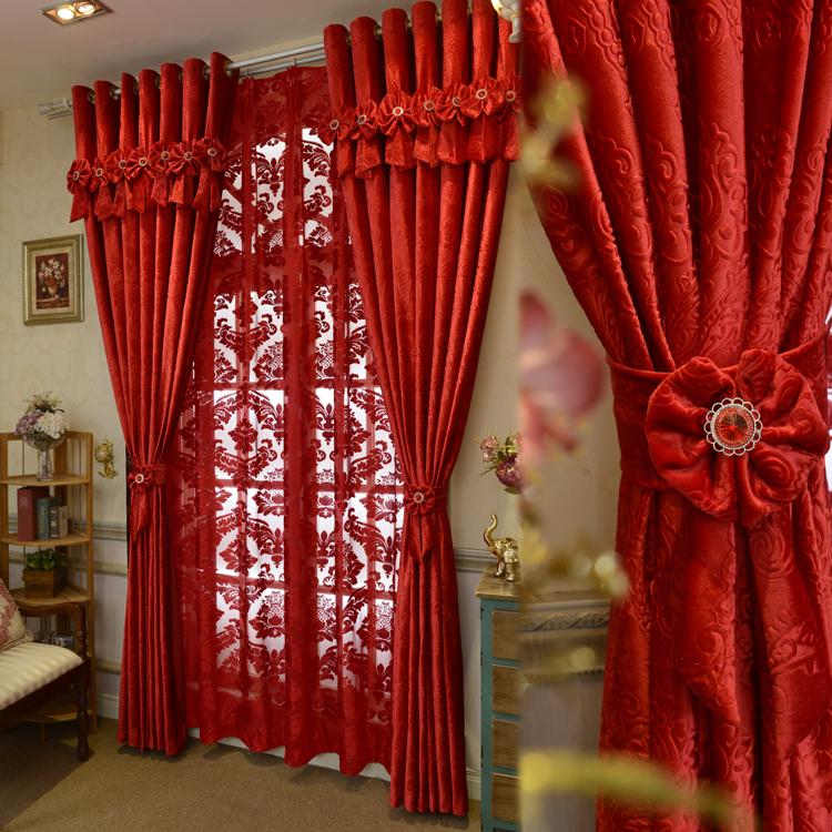 woonkamer gordijnen rode gordijnen uit china italiaanse gordijnen groothandel aliexpresscom