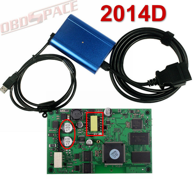 DHL Free 2015 Top-Rated VOLVO VIDA DICE Diagnose Scanner Volvo Dice Pro+ 2014D Update By CD(Hong Kong)
