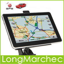 7 inch TFT LCD Screen Car GPS Navigation With Bluetooth FM Transmit