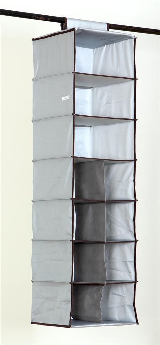 Multifunction Storage Collection Foldable Hanging 11 Compartments shoe Organizer, Silver,low price(China (Mainland))