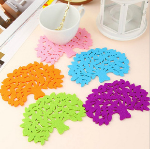 2015 Retro 5Pcs/L Flower Doilies Coaster Coffee Table Cup Mats Pad Placemat Kitchen Accessories Cooking Tools(China (Mainland))