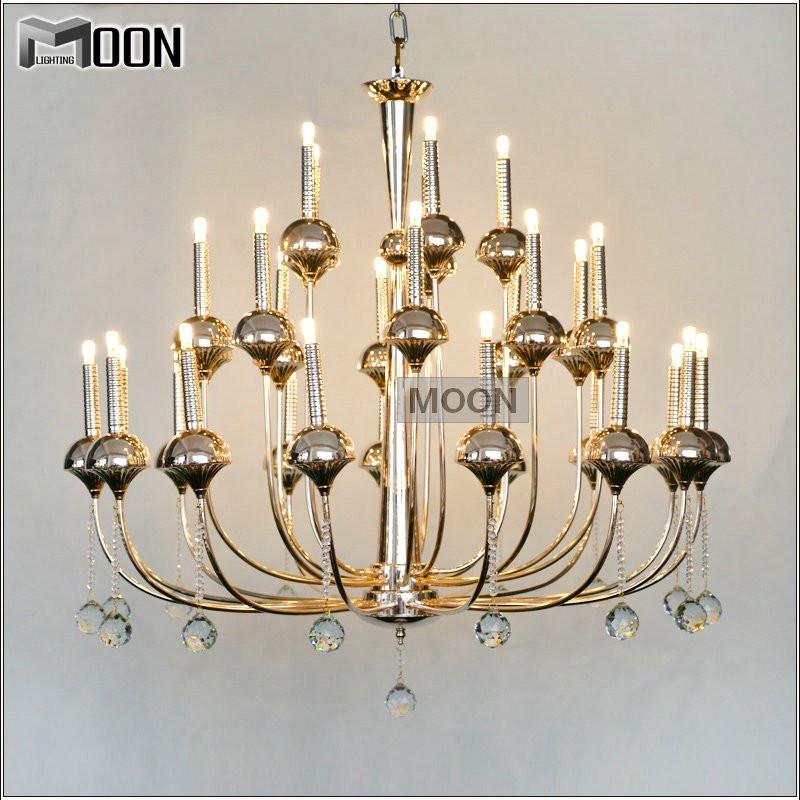 modern led crystal pendant lights fixture lustre de. Black Bedroom Furniture Sets. Home Design Ideas