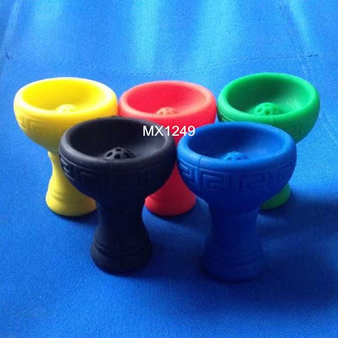 1 шт. шиша кальян многоканальный шиша кальян силиконовые чаша