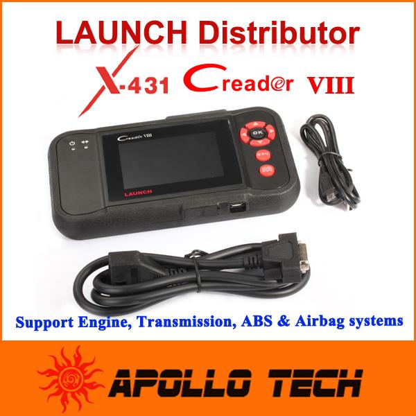 [Authorized dealer] Launch Creader VIII OBDII Auto Code Scanner Same function CRP129 Creader8 free Internet Update(China (Mainland))