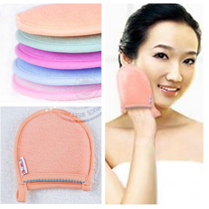 1 Pcs 5 Colors Portable Travel Bamboo Fiber Towel Remove Makeup Remover Beauty Towels Cleansing Towels Good Removing Towel