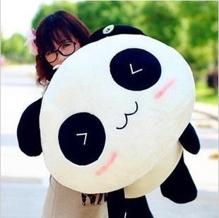 45cm=17.7'' Giant Panda Pillow Plush Toys Stuffed Animal Toy Doll Valentine's Day Gift Kids Gift,Free shipping(China (Mainland))