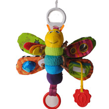 Buy New Baby Toy Developmental Infant Mobile Butterfly Toys Baby Rattles Bell Doll Plush Toys 0-12 Months Pram Hanging for $7.10 in AliExpress store