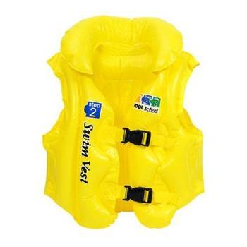New fashion style 2013 child inflatable swim vest swimwear life vest - Medium  free shipping