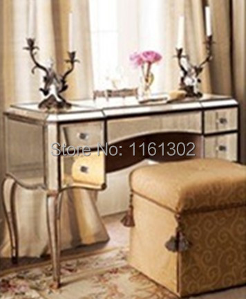 antique mirrored furniture. mr401051 antique gold rimming mirrored drawers va furniture