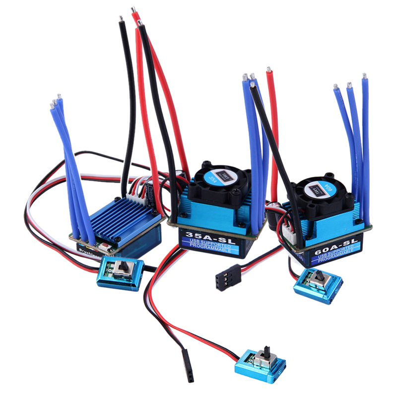 ESC Brushless Electric Speed Controller For RC Car Truck FCI#(China (Mainland))