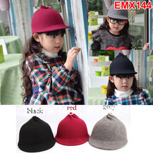 5pcs/lot 100% Wool  Felt Baby Girls Boys Fedora hat Children Top Hats Kids wool Felting Fedoras Accessories Free Shipping(China (Mainland))