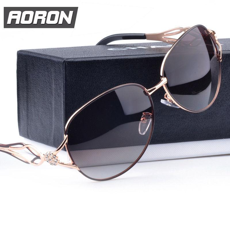 Womens Ladies Designer Polarized Aviator UV400 Sunglasses Oversized Outdoor Female Driving Glasses Eyewear Sale(China (Mainland))