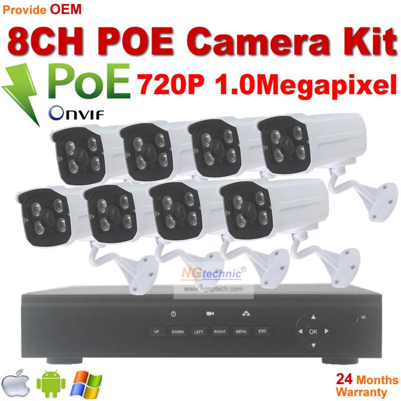 annke 8ch 720p hd poe nvr ip surveillance kit