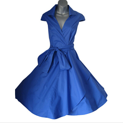 Free Shipping woman summer 2015 vintage rockabilly  party dresses plus size retro  swing dress with belt hot saleОдежда и ак�е��уары<br><br><br>Aliexpress