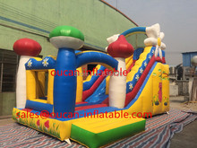free shipping 7x4x6m giant inflatable slide for small pool, inflatable water slides for sale(China (Mainland))