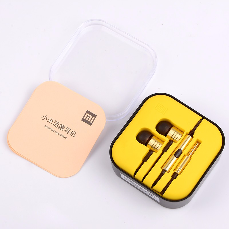Xiaomi Colorful Piston Headsets With Mic In-Ear Earbud Earphone For iPhone Samsung Xiaomi Piston Earphone Basic Stereo Earpods