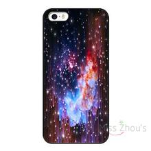 For iphone 4/4s 5/5s 5c SE 6/6s 7 plus ipod touch 4/5/6 back skins mobile cellphone cases cover Star Field