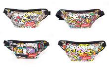 Hot Star Travel Bags Running Waist Bag Suprem Canvas Wallet Fanny Pack Sport Money Belt Packs Messenger Bags unisex