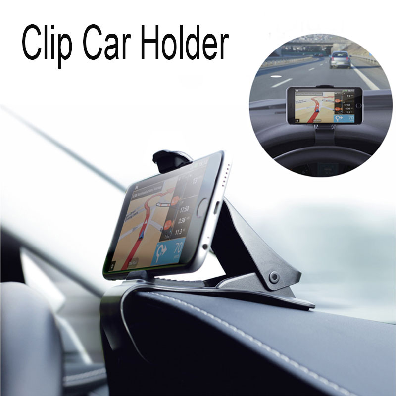 New Car Phone Holder for iPhone 6 7 Plus Dashboard Cradle Mouth Holder Pop Socket Clip for Navigation Samsung Xiaomi Huawei GPS(China (Mainland))