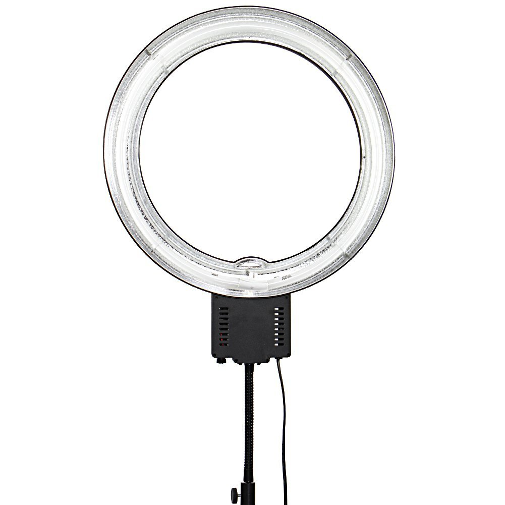 Nanguang NG-65C Camera Photo 65W 5400K Dimmable Fluorescent Flash Macro Ring Light for Photography Video Studio Free Shipping(China (Mainland))