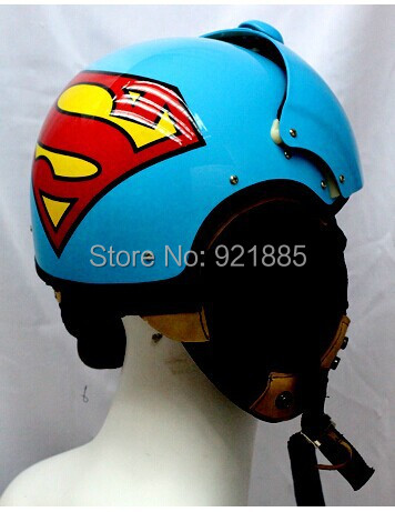 NEW arrival Brand Masei motorcycle helmet Cool AIR FORCE JET Pilots helmets Scooter BATMAN/SUPERMAN half helmet(China (Mainland))