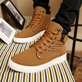2016 New Autumn Men s Shoes High top Casual Men s Fashion Martin Boots Suede Leather
