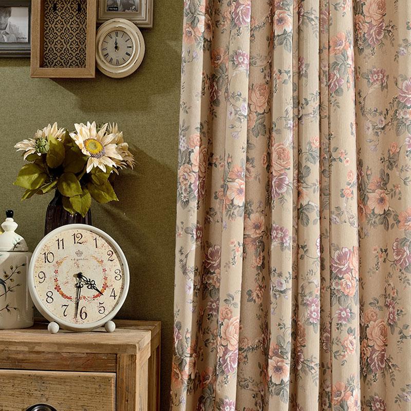 Achetez en gros vintage style rideaux en ligne des - Cortinas estilo vintage ...