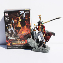 "Buy Anime One Piece Monkey D Luffy Dracule Mihawk PVC Action Figure Collection Toy 6""15CM for $15.95 in AliExpress store"