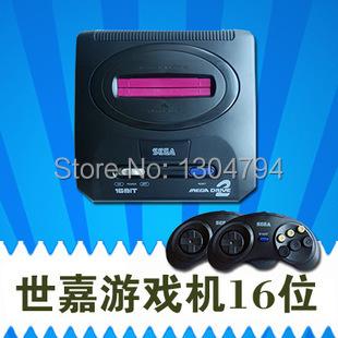 2015Updated!tv games Sega mega drive 2 Video Game Console Card 16 Bit Game Consoles Sega MD 2 Sega Genesis TV game consoles!!!(China (Mainland))