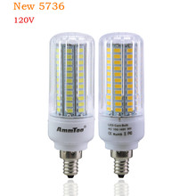 LED Bulb E27 E17 E12 110V 5736 SMD 3W 5W 7W 9W 12W 15W Lampada LED Lamps the LEDs for Home Lighting for Chandelier Lighting(China (Mainland))
