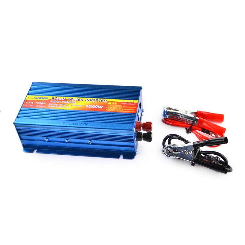 SUOER FAA-1000A  Inverter  1000W DC 12V to AC 230V Solar Power Inverter Reverse Battery Protection   Inverter <br><br>Aliexpress