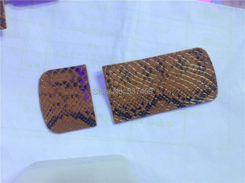 Snakeskin leather sticker brown color cover for Nokia 8800 Arte 8800A gold edition snakeskin leather free shipping